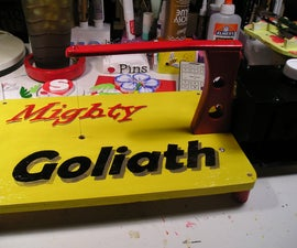 Making The Mighty Goliath Hotwire Machine!
