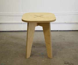 CNC Chess stools