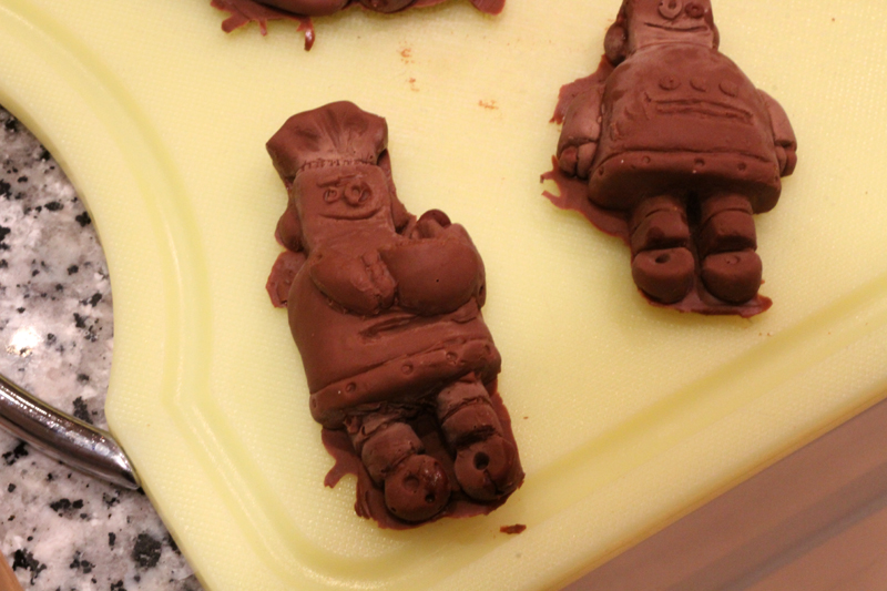 Picture of Remove the Chocolates From Their Moulds