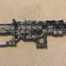 "Knex Custom Bolt-Action Rifle ""Hymm Of The Dead"""