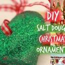German inspired salt dough xmas ornaments