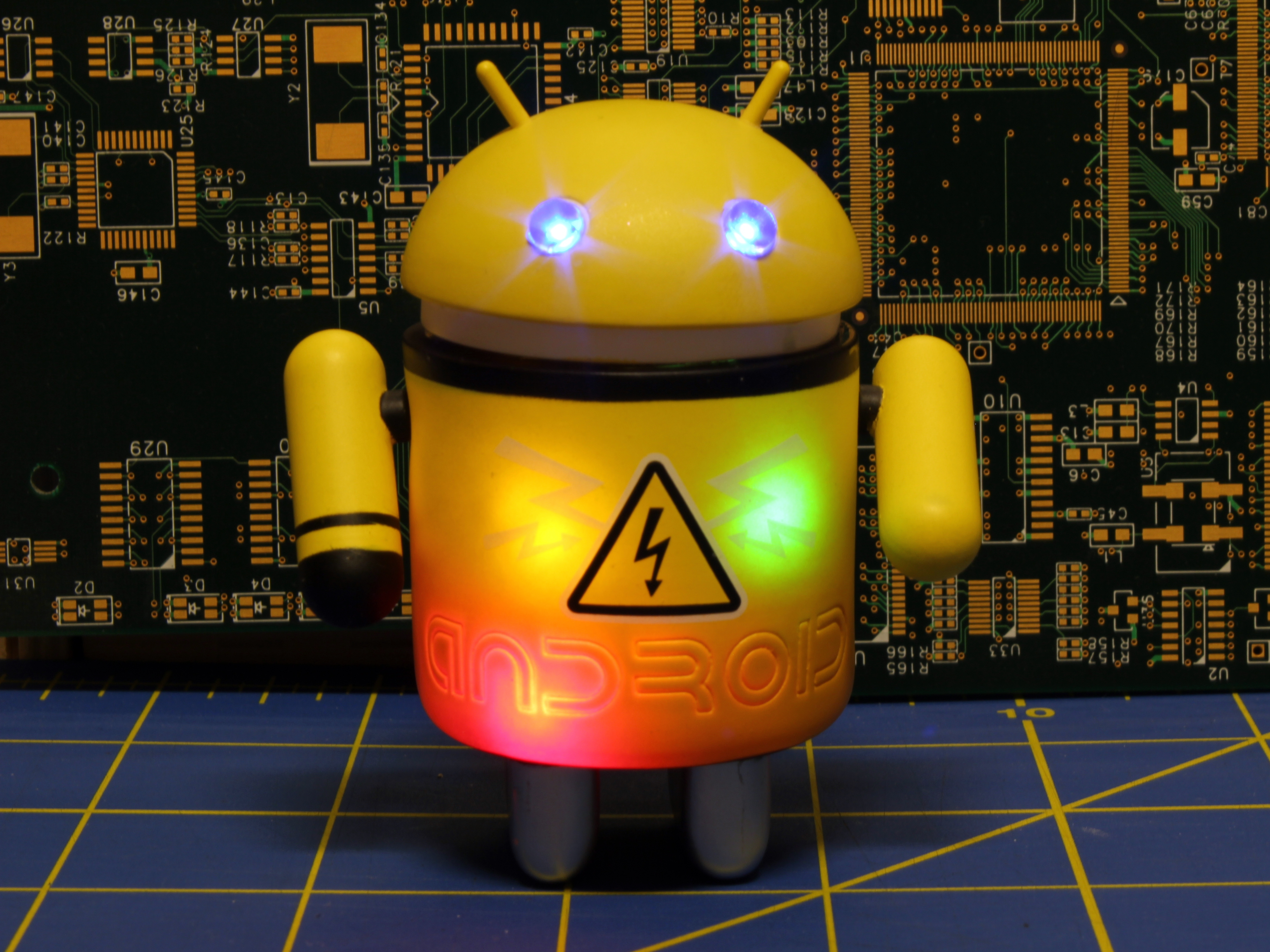 Picture of Mechanized Android Figure