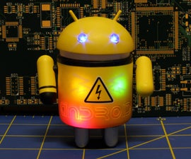 Mechanized Android Figure