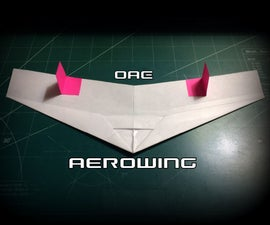 How to Make the Aerowing Paper Airplane