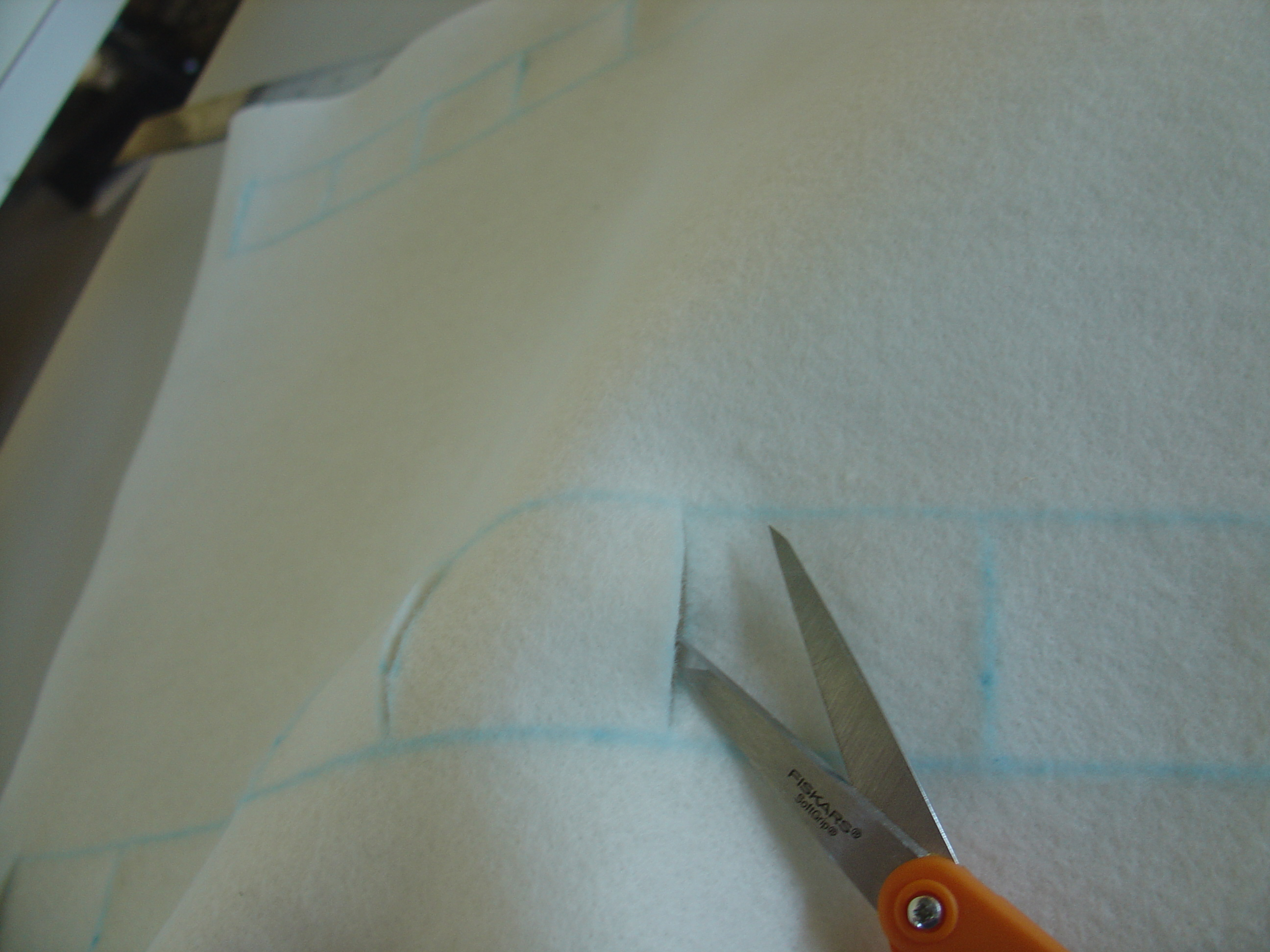 Picture of Measure & Cut Slits for Straps
