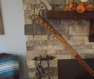Viking Inspired Bearded Axe (no Forge)