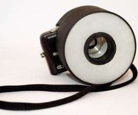Point-and-Shoot Ring Flash Diffuser