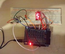 Arduino 7-Segment Click Counter