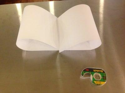 Create the Paper Music Scroll