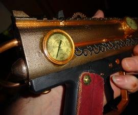 $1 Steampunk Pressure Gauge