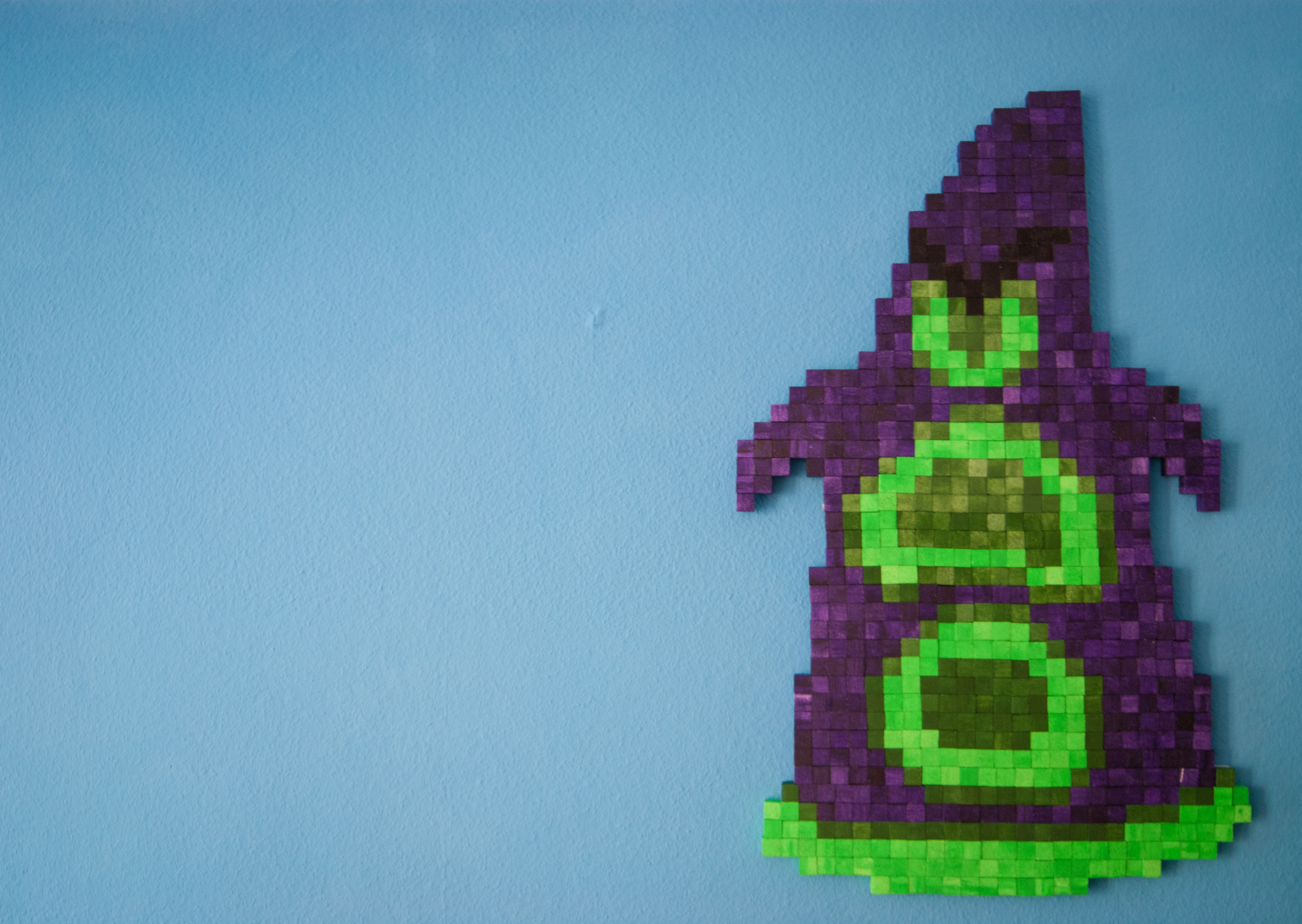 Picture of Pixelated Figure of Purple (Day of the Tentacle)