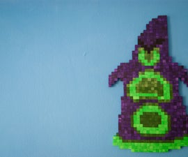 Pixelated Figure of Purple (Day of the Tentacle)