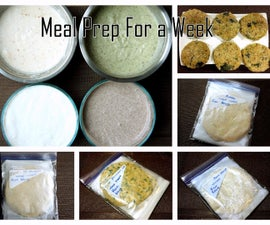 Meal Preparation For a Week