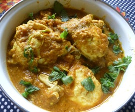 Egg Curry With a Difference