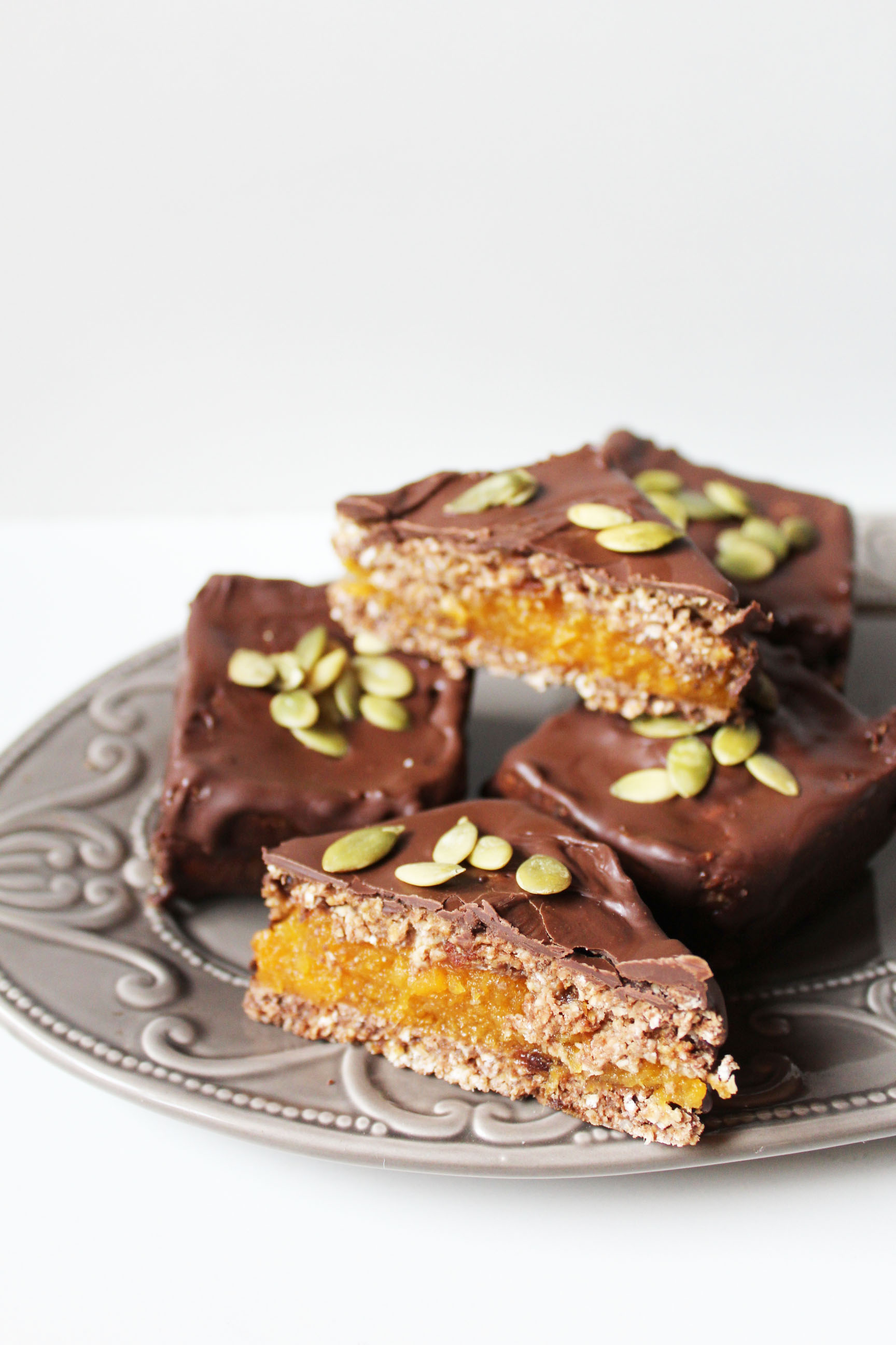Picture of Raw Bars With Butternut Squash Jelly