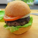 No Smoker Smoked Burger aka Seasoning Meat with Meat!
