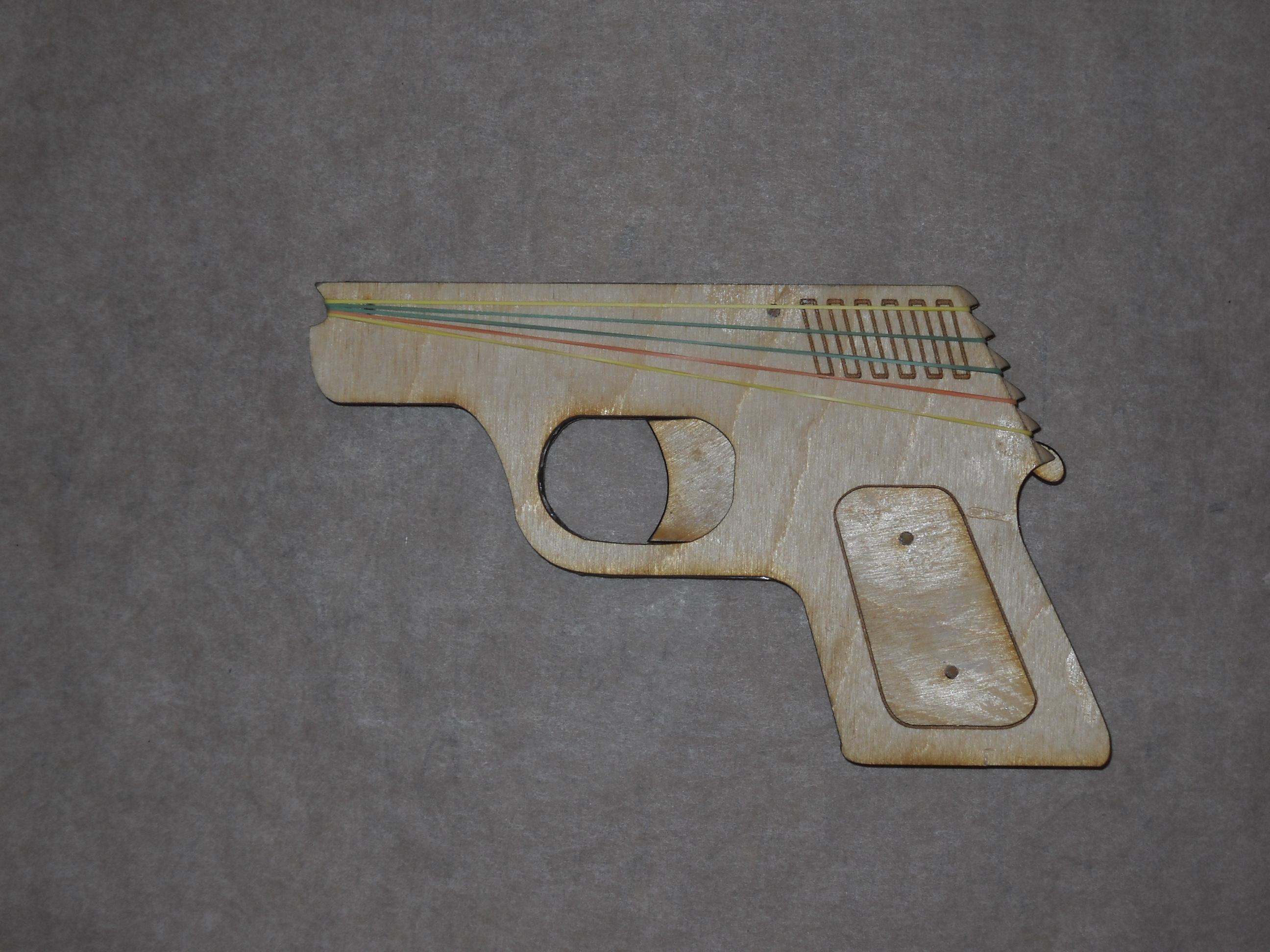Picture of Semi-Automatic Rubber Band Gun