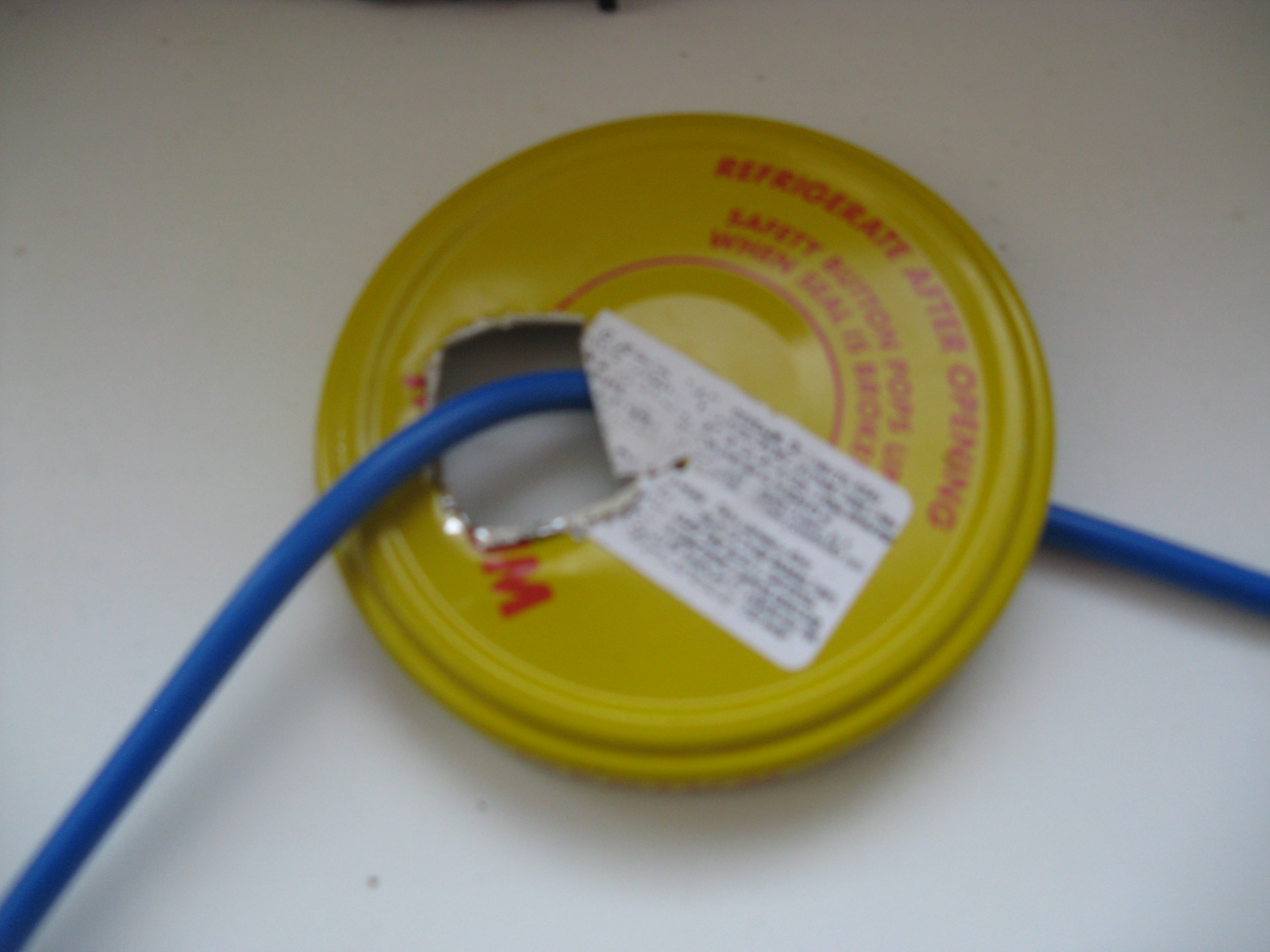 Picture of Securing the Heating Element to the Lid