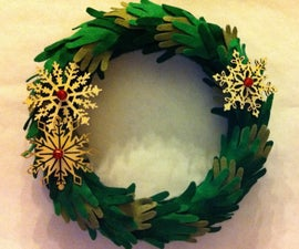 Baby Hands Christmas Wreath