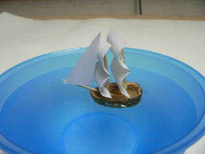 Cut Sails From Paper