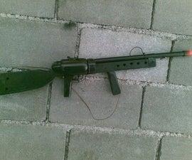 Powerful PVC-Marble Sniper Riffle