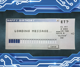 Loading Message Card