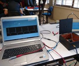 DIY ECG + Arduino + LabView