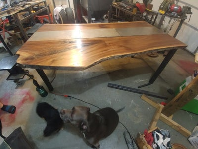 Prepping the Wood for Epoxy
