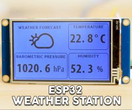 ESP32 WiFi Weather Station With a BME280 Sensor