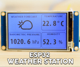 ESP32 WiFi Weather Station With a BME280 Sensor
