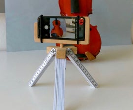 DIY Tripod for Smartphone (iPhone SE)