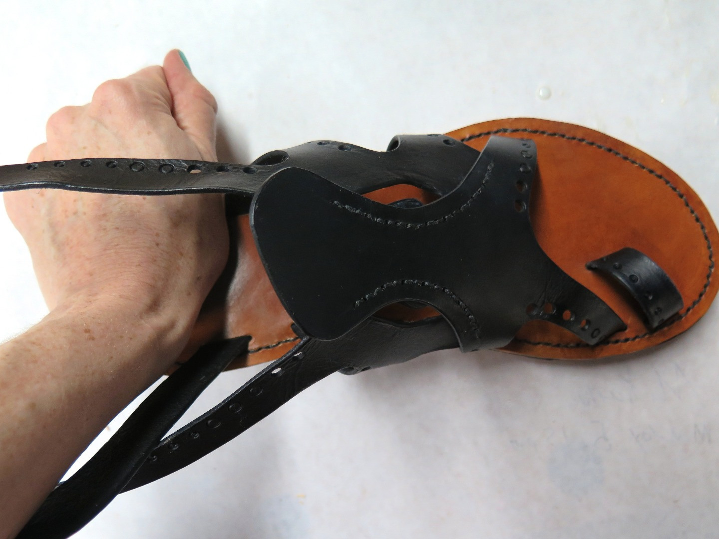 Picture of Attaching the Heel