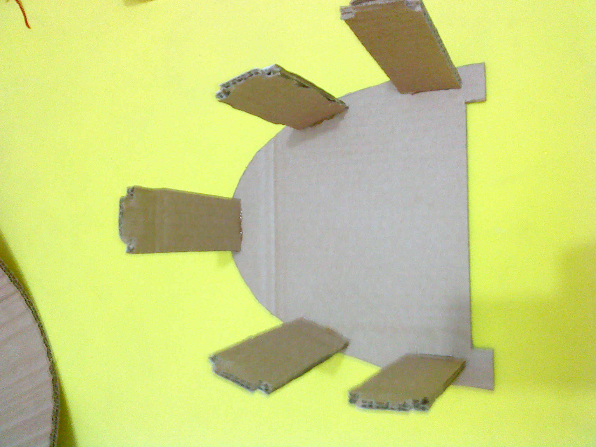 Picture of Cut and Assembling the Parts