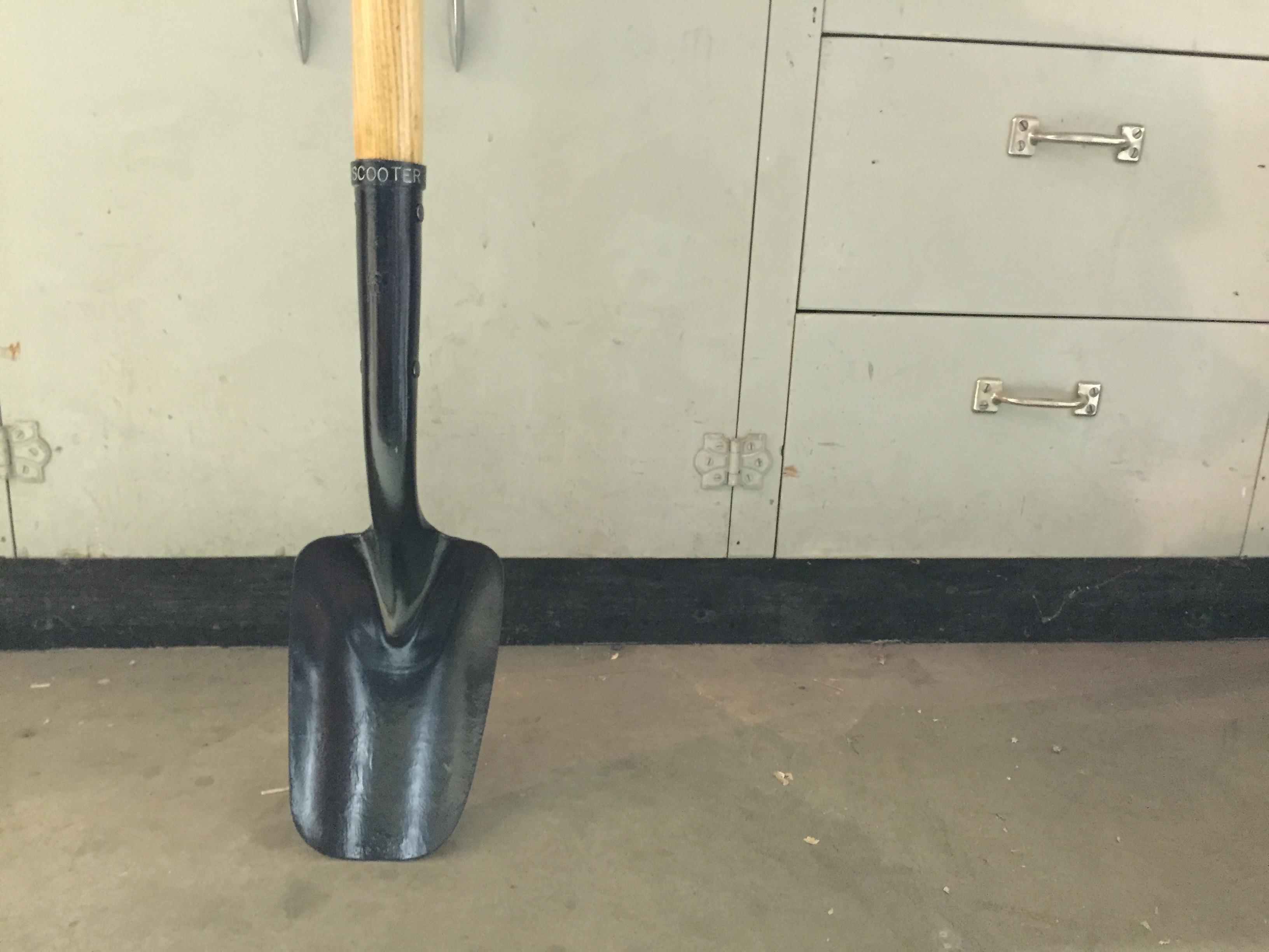 Picture of Solid Back Shovel Restoration