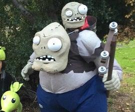 Plants Vs Zombies Gargantuar Zombie!