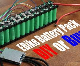 DIY EBike Battery Pack