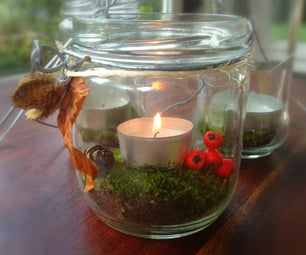 Quick & Easy Cute Lantern for Garden Parties or Dinner Decoration