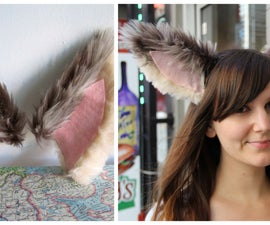 faux fur animal ears