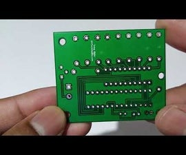 How to Make a Custom DIY Temperature Meter Using Bar Graph & Atmega328p