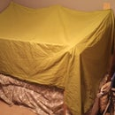 How to Build a Bed Fort Using Paper and Office Supplies