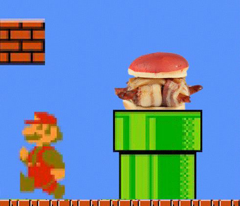 Picture of Koopa Troopa Bacon Turtle Burgers