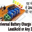 Universal Battery Charge Indicator 3.7v-24v