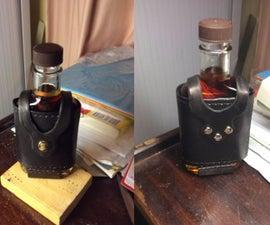 Leather Flask Holder