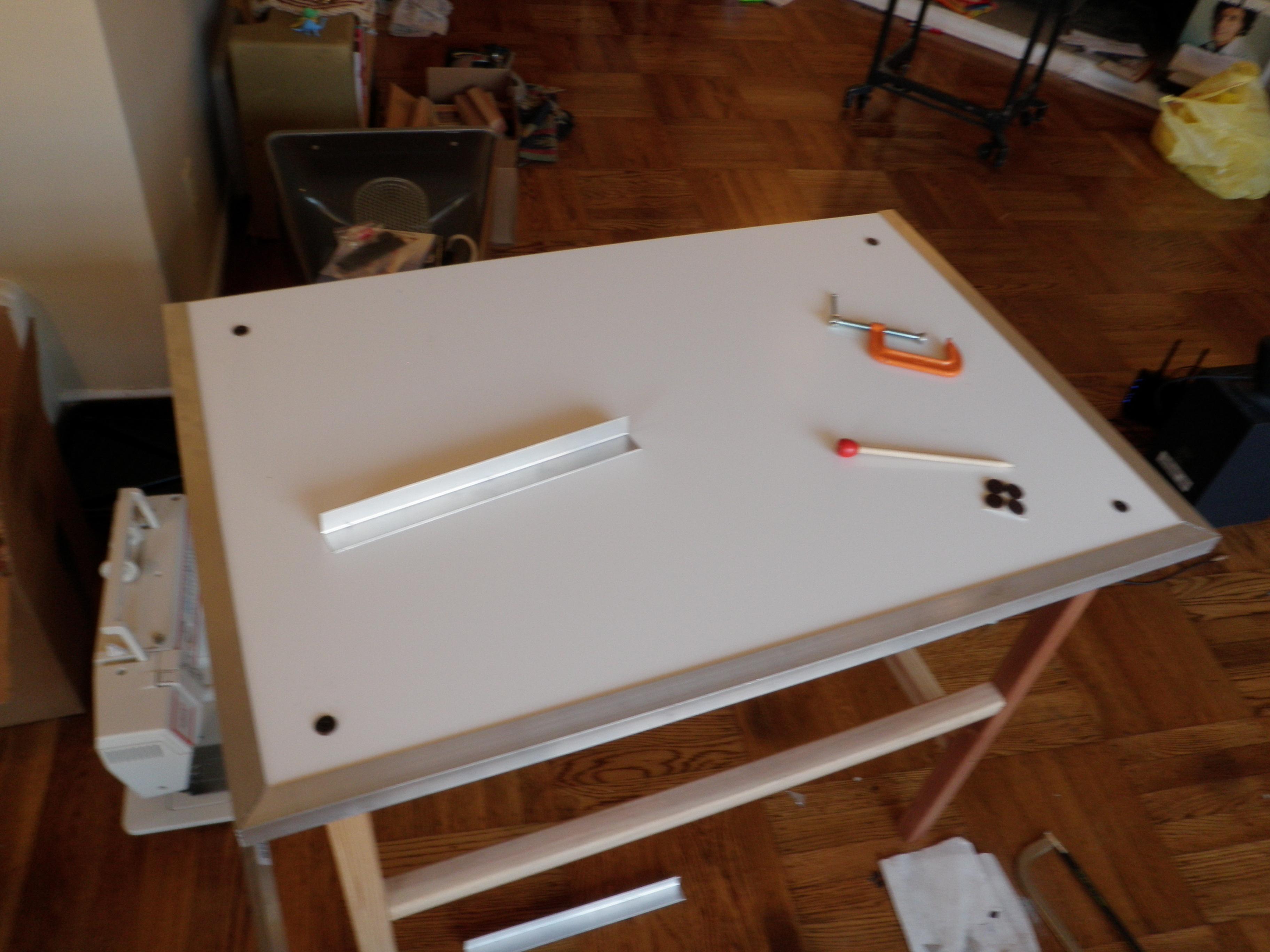 Picture of Prepare the Aluminum