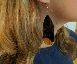 Grouse Feather Earrings