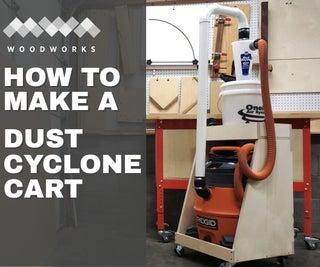Dust Cyclone Cart