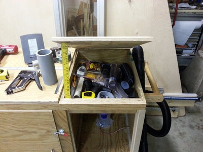 Add the Dust Separator & Small Storage Compartment