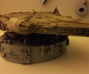 Millennium Falcon Bedside Lamp / Night Light