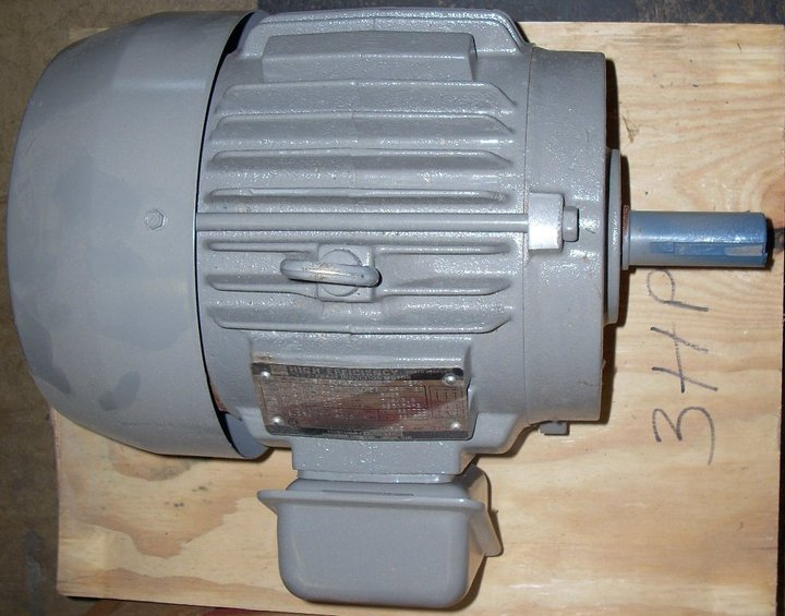 Picture of What projects could I do with an industrial electric motor (1 to 7.5 HP)?