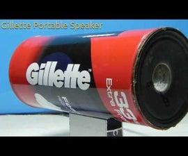 Gillette Portable Speaker